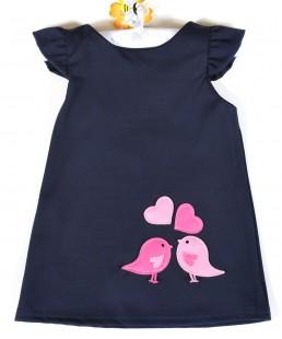 παιδικο φόρεμα πουλακια