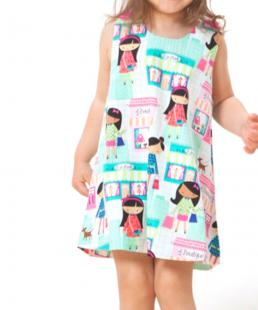 παιδικό φόρεμα δώρο για βάφτιση marvie