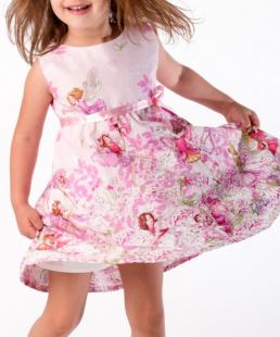 ροζ φόρεμα νεραιδες