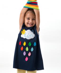 Παιδικό φόρεμα Βροχούλα με Όνομα