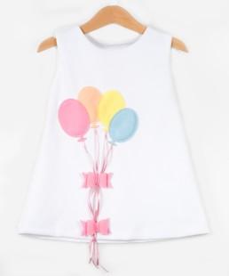 παιδικό φόρεμα μπαλόνια