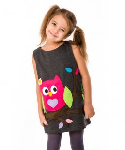 παιδικό φόρεμα κουκουβαγια