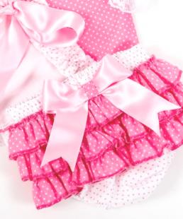καλυμα πανας ροζ σετ