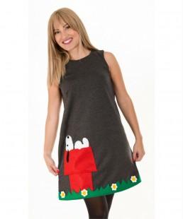 handmade women dress snoopy