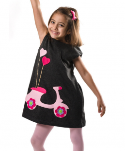 χειροποίητο φόρεμα για κορίτσια βέσπα