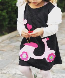 παιδικό φόρεμα βέσπα