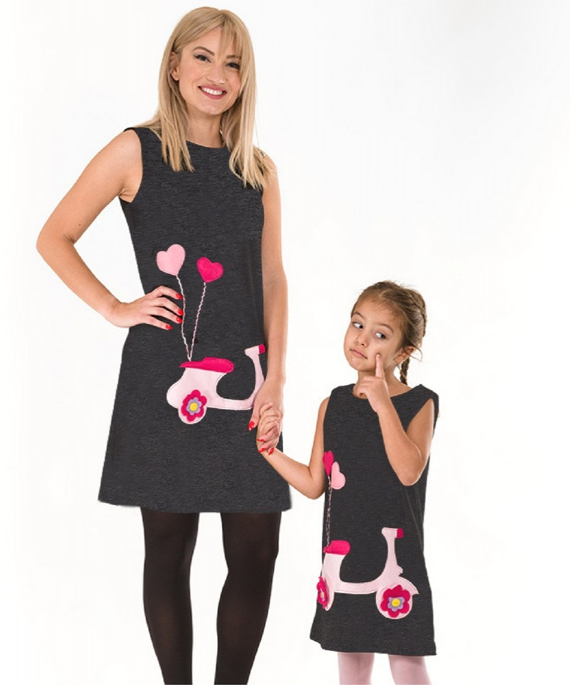 046dc1cec40 Μαμά και Κόρη   Marvie - Χειροποίητα Παιδικά Ρούχα
