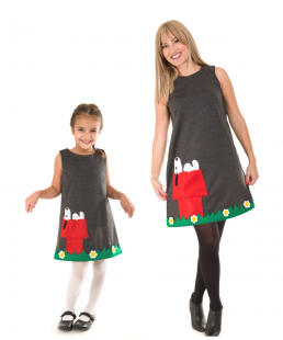 mama kori set snoopy dress
