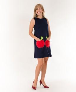 γυναικειο φορεμα μηλα