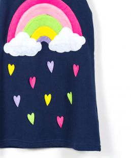 παιδικό φόρεμα rainbow