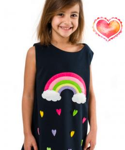 φόρεμα για κορίτσια Ουράνιο Τόξο