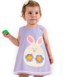 παιδικό φόρεμα λαγουδακι