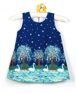 παιδικο φορεμα κυκνος