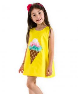παιδικό φόρεμα παγωτο