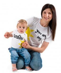 μαμά και κόρη σετ tshirt