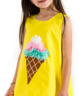 καλοκαιρινο φορεμα παγωτό