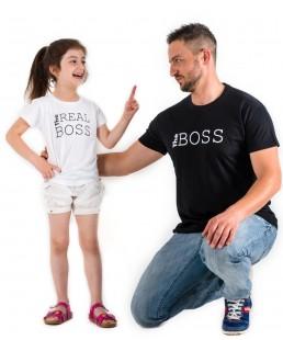 σετ μπλουζακια μπαμπας γιος/κόρη