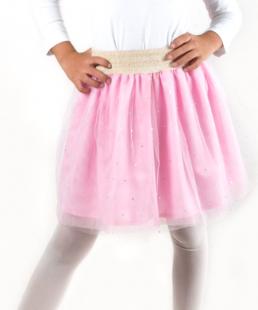 τούλινη ροζ φούστα για κορίτσια