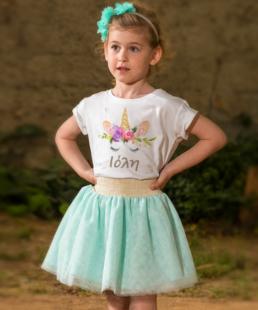 παιδική φούστα τουλινη βεραμαν