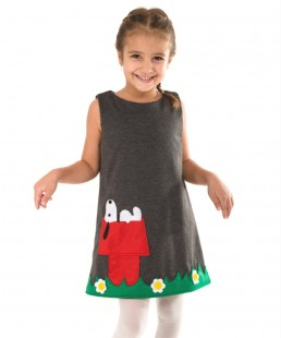 snoopy kids dress