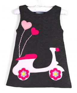 παιδικό χειροποίητο φόρεμα βέσπα