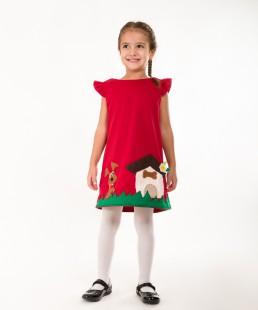 παιδικο φορεμα κουταβακι
