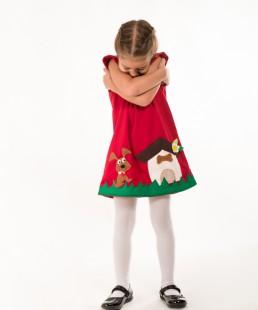 παιδικο φορεμα σκυλακι