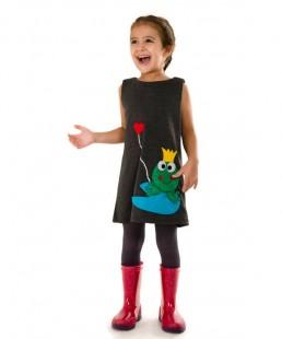 παιδικό φόρεμα Βατραχάκι