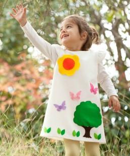 χειροποίητο παιδικό φόρεμα