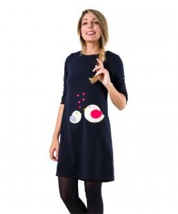 γυναικειο φορεμα πουλακια