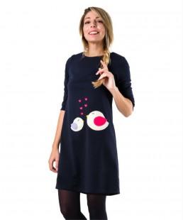 γυναικειο φόρεμα πουλάκια