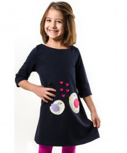 παιδικό φόρεμα πουλάκια
