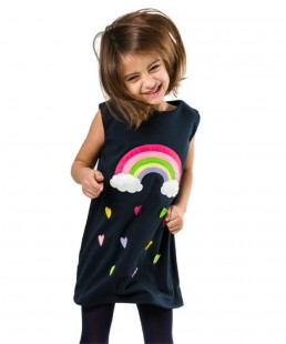 handmade-kids-dress-rainbow
