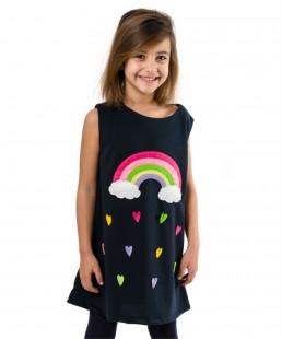 χειροποίητο φόρεμα Ουράνιο Τόξο