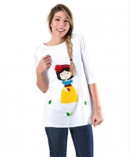 μπλουζοφορεμα Χιονατη