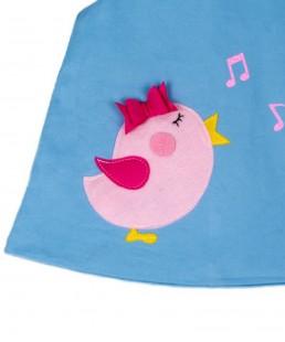παιδικό φόρεμα πουλάκι που τραγουδάει