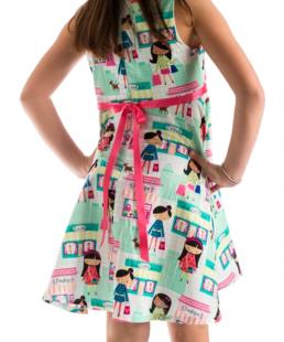 παιδικό καλοκαιρινό φόρεμα boutique