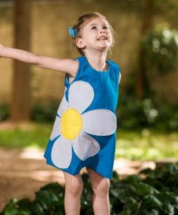 παιδικό φόρεμα μαργαρίτα