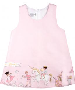 παιδικο ροζ φόρεμα μονόκεροι
