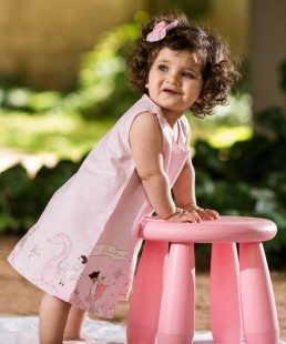 φορεμα ροζ καλοκαιρινο παρελαση