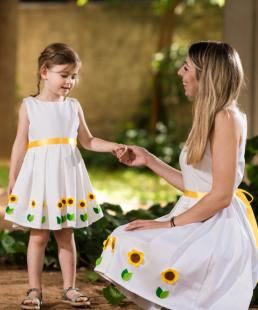φόρεμα μαμα και κόρη
