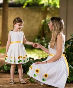 Μαμά και κόρη ασορτί