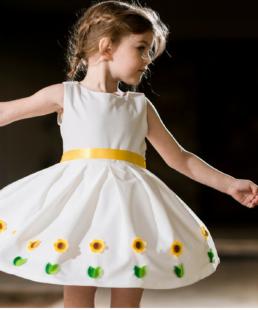 φόρεμα ηλιανθος