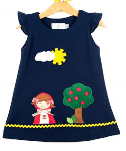 Παιδικό φόρεμα κοκκινοσκουφίτσα