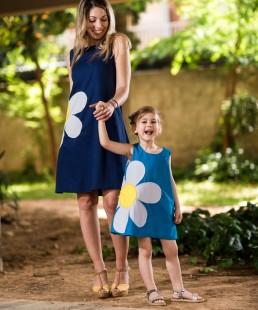 Μαργαρίτα φόρεμα μαμα και κόρη