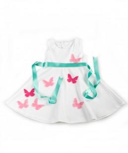 Φόρεμα με Πεταλούδες
