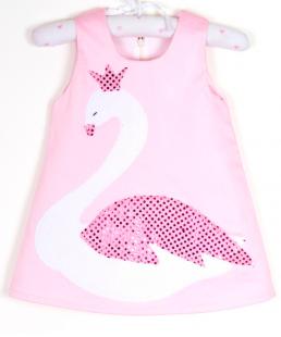 Παιδικό Φόρεμα Κύκνος