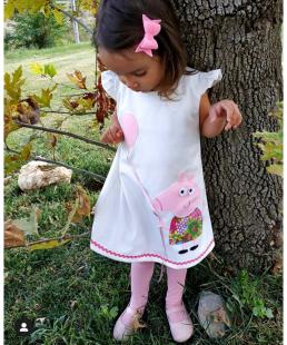 παιδικό φόρεμα Πέππα