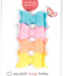 φιογκάκια κοκαλάκια παστελ χρωματα για κορίτσια