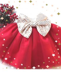 τουλινη κόκκινη φούστα